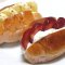 ロールパンを使ったサンドイッチ
