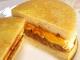 ハンバーグと卵のイングリッシュマフィンサンド