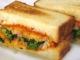 ブロッコリーとチーズのサンドイッチ