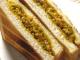 キーマカレーのサンドイッチ